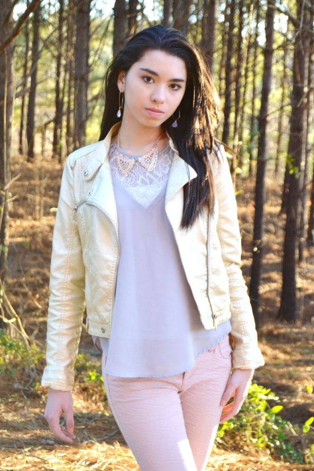 Metallic Outfit teen fashion blog