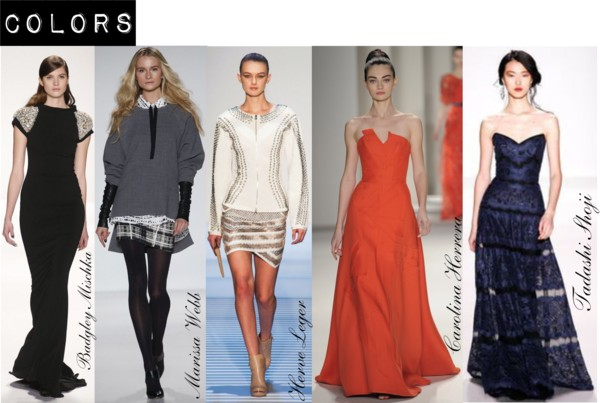 Fashion Week Fall/Winter 2014 Color Trends