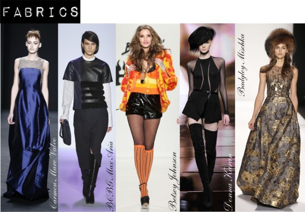 Fashion Week fall/Winter 2014 Fabric Trends
