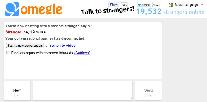 Omegle Unmoderated Safe