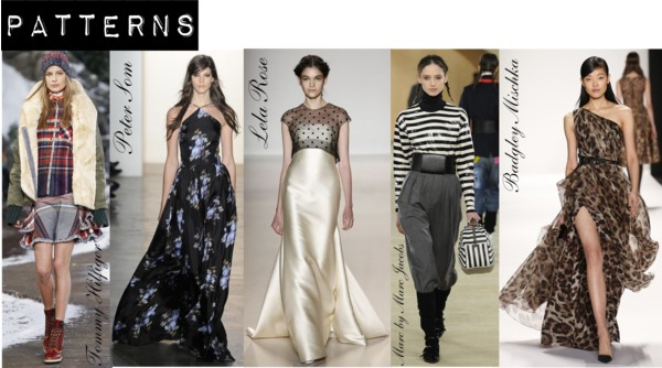 Fashion Week Fall/Winter 2014 Pattern Trends