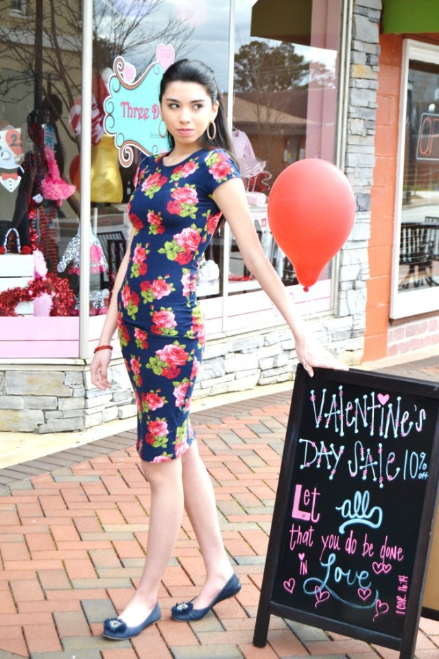 Valentine's Day Outfit teen fashion blog