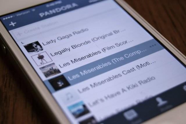 Pandora Station Les Miserables teen fashion blog