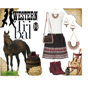 Western Tribal Outfit
