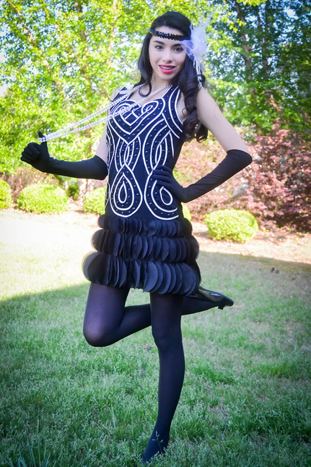 Thoroughly Mpdern Millie flapper costume teen fashion blog